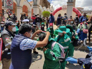 La Alcaldía reconoce a los trabajadores de Emap por su incansable labor durante la pandemia