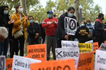 Justicia española rechaza confinamiento en Madrid