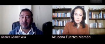 Andrés Gómez habla sobre la democracia y elecciones  en conversatorio virtual