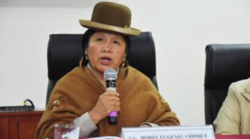 Justicia revoca la detención domiciliaria de la expresidenta del TSE