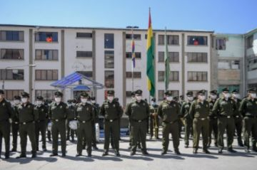 La Paz : Policía advierte con procesar y encarcelar a quienes atenten contra la democracia en las elecciones