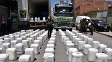 El Alto: FELCN desarticula un clan familiar vinculado al narcotráfico