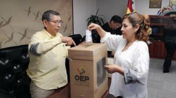 El TSE recuerda los últimos hitos del calendario electoral