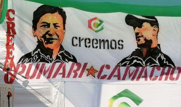 """Marco Pumari dice que """"sería un grave error"""" dejar la candidatura"""