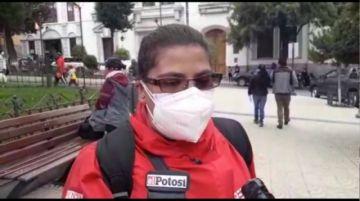 Trabajadores de la prensa exigen que se aplique las normas de preservación del Cerro Rico