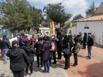 Se realiza una inspección al cementerio general de Potosí