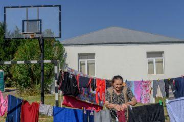 Los refugiados de Azerbaiyán vivenbajo el terror de los bombardeos