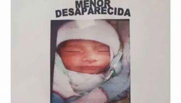 La bebé Samanta ya fue rescatada tras más de un mes de búsqueda, informó el ministro Murillo