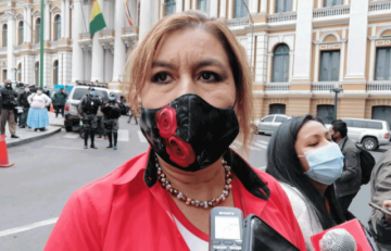 """Candidata de ADN ratifica que sigue en carrera: """"María Bayá muere de pie"""""""