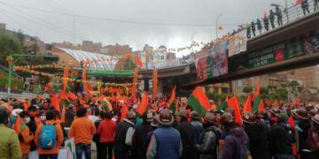 Comunidad Ciudadana cierra su campaña con aglomeración en Potosí