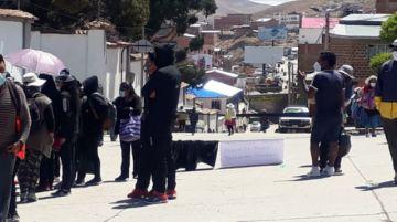 Vea la situación de cercanías al Cementerio, bloqueos y protesta