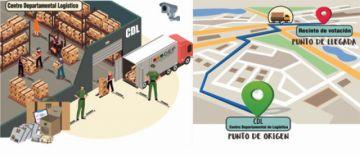 Cadena de custodia y sistemas de monitoreo en tiempo real resguardan los materiales electorales