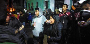 El MAS cerró campaña vulnerando bioseguridad en Betanzos
