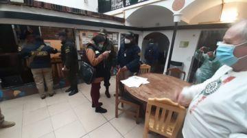 Interpol realizó operativo en hoteles y hostales de la ciudad