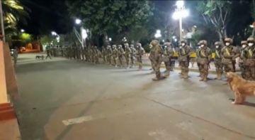 Tupiza realiza el control del Auto de Buen Gobierno con policías y militares