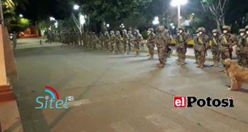 Vea cómo fueron los operativos nocturnos preelectorales en Potosí y Tupiza