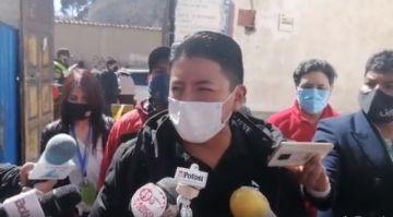 Candidato a la vicepresidencia por Creemos ya votó en Potosí