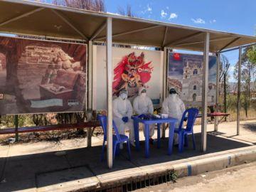 Consultorio covid atiende a pacientes en la jornada electoral