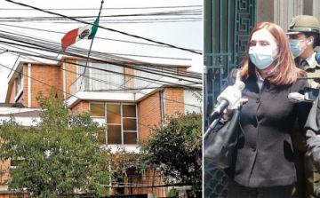 Canciller deja al próximo gobierno liberar o aprehender a asilados de la residencia mexicana
