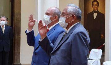 Murillo y Cárdenas son posesionados de nuevo como ministros