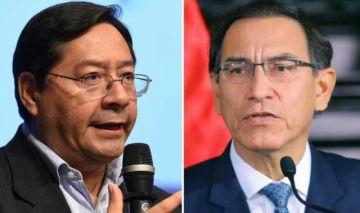 Citan a Luis Arce en investigación contra presidente Vizcarra, según prensa peruana