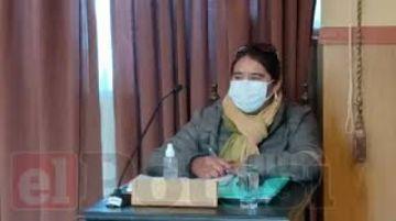 Olga Vilacahua está en su curul, pese a sentencia ejecutoriada