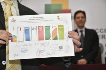 El TSE aclara que nulificar votos de Libre 21, Juntos y ADN causó leve disminución de actas computadas