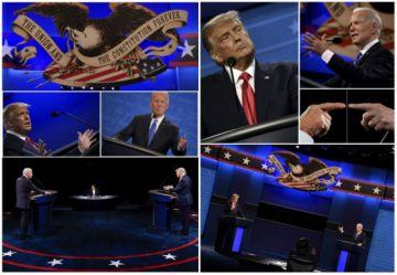 Así fue el debate final entre Trump y Biden  en Estados Unidos