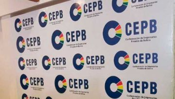 Confederación de Empresarios felicita al binomio del MAS por la votación