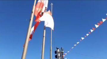 Potosí le rinde homenaje a su bandera en un acto cívico