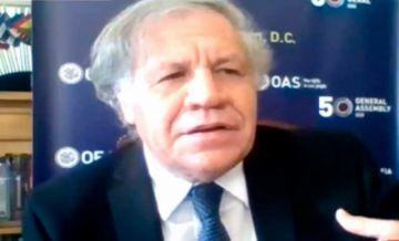 """Almagro afirma que en 2019 pidió a Evo Morales no renunciar, pero éste """"salió corriendo"""""""