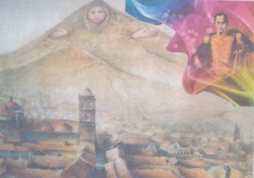 Se recuerda la ascensión de Simón Bolívar al Cerro Rico de Potosí