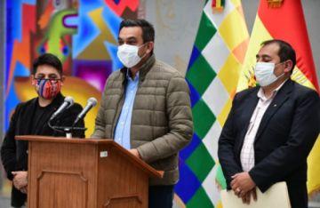 Gobierno confirma que posesión de Arce será el 8 de noviembre