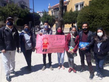 Voluntarios organizan rifa solidaria para ayudar a combatir los incendios