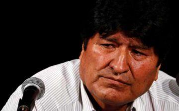Orden de aprehensión contra Evo Morales sigue activa