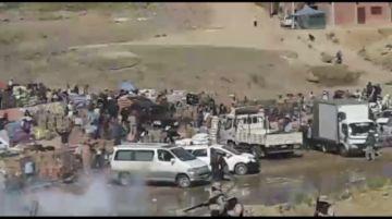 Pobladores mantienen el bloqueo en Villazón, frontera con Argentina