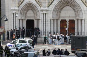 Ataque con cuchillo en una iglesia en ciudad francesa de Niza deja tres muertos
