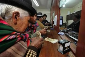 A partir de hoy paga las rentas a los asegurados del Sistema de Reparto