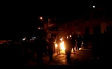 Personas realizan vigilia demandando que las Fuerzas Armadas asuman el mando del país