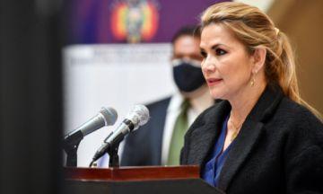 La presidenta Jeanine Áñez alista su informe de gestión