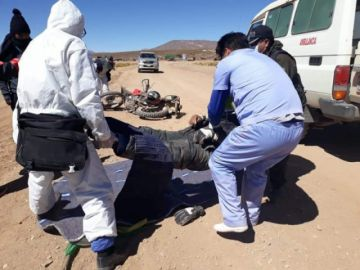 Auxiliar de salud muere instantáneamente en Vilama, sudoeste potosino