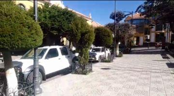 Se reduce circulación peatonal y vehicular en Todos Santos