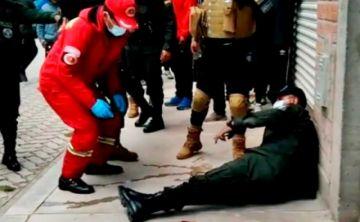Policía activa rastrillaje para encontrar a delincuentes que balearon a efectivos en El Alto