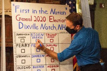Trump o Biden : EEUU en vilo ante los primeros resultados