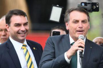 Imputan por corrupción al senador Flávio Bolsonaro, hijo del presidente de Brasil