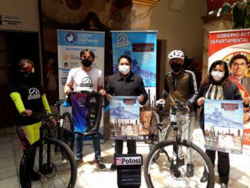 """Lanzan la segunda versión de la competencia ciclística """"Uyuni challenge"""""""