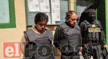 Presentan a dos sospechosos de robo en la zona de la circunvalación