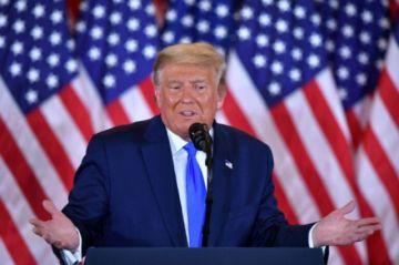 Trump afirma que ganó las elecciones pese a que el recuento continúa en varios estados