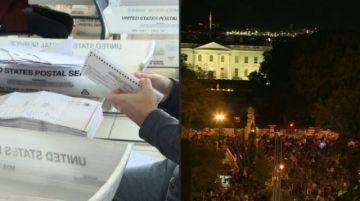 Siga los resultados  en tiempo real de las Elecciones en Estados Unidos