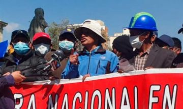 """Fuerzas Armadas plantean procesar al dirigente que propone """"milicias armadas"""""""